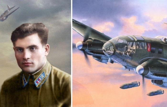 Михаил Девятаев сбежал из немецкого плена на вражеском бомбардировщике.