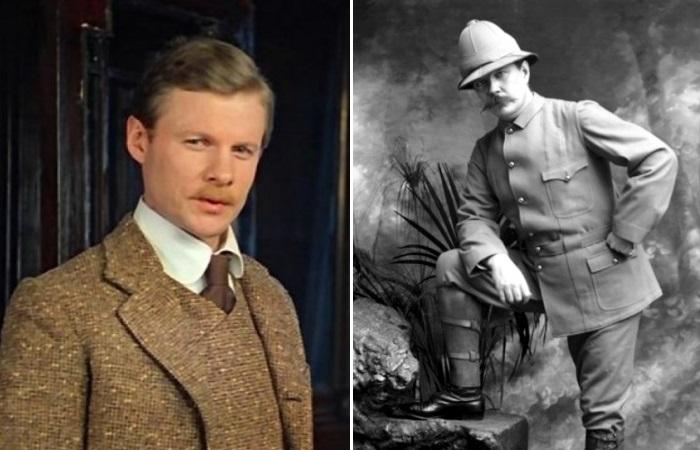 Доктор Ватсон и Артур Конан Дойл – офицеры-медики, сражавшиеся за Британию.