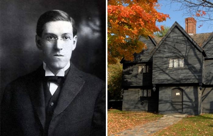 Говард Лавкрафт и «ведьмин дом» из Салема.