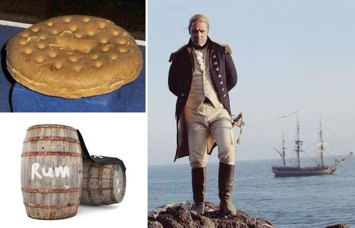 Сложно представить, что приходилось есть морякам XVI-XVIII веков.