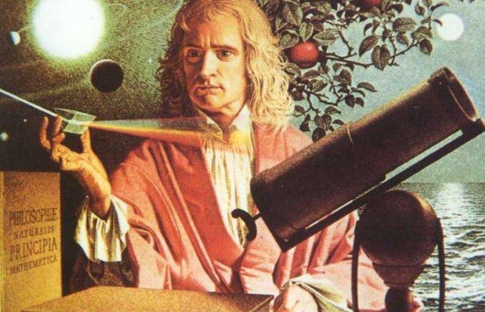 Исаак Ньютон – великий британский ученый XVII-XVIII вв. | Фото: mystown.com.