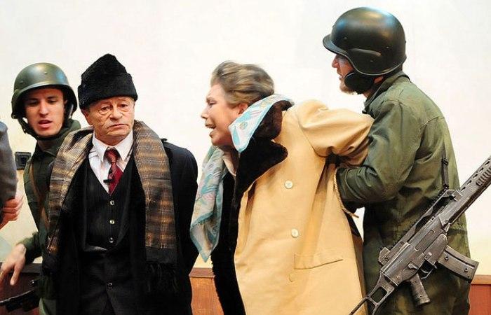 Судилище над правителем Румынии Николае Чаушеску. | Фото: sekretmira.ru.