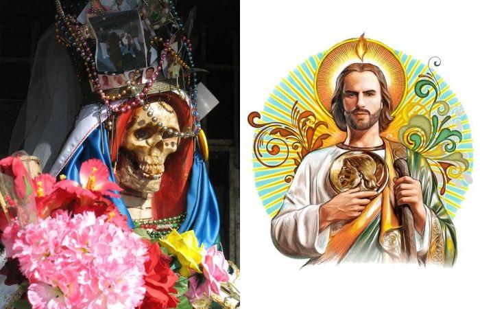 Необычные Святые, которым молится вся Мексика.