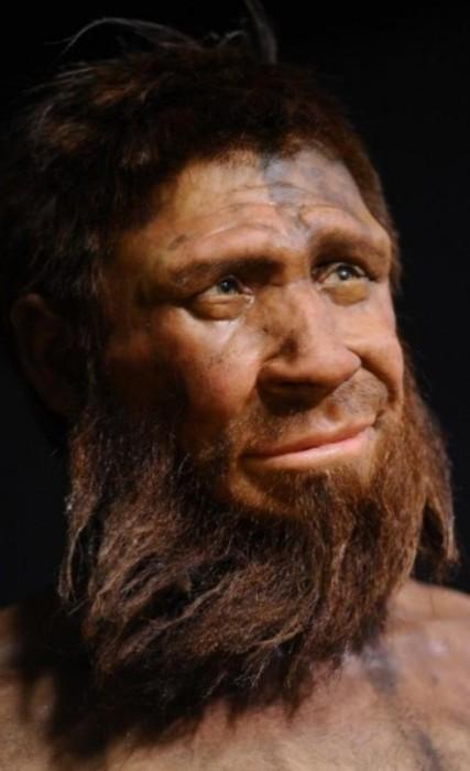 Неандертальский мужчина. | Фото: rozamira.pw.