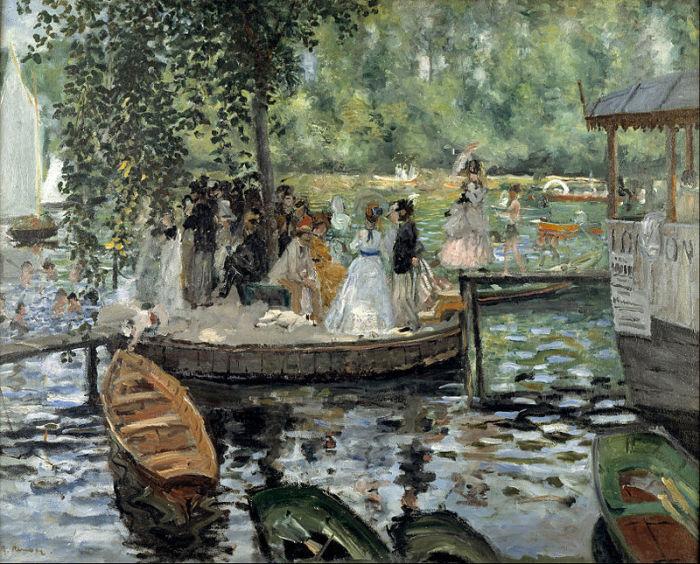 Лягушатник. Пьер Огюст Ренуар, 1869 г. | Фото: hudojnik-impressionist.ru.
