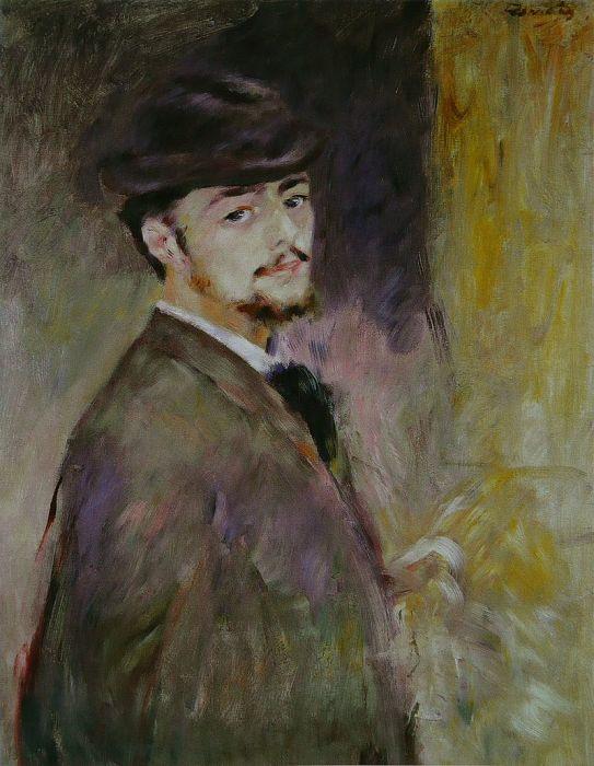 Автопортрет. Пьер Огюст Ренуар, 1876 г. | Фото: cocorico.com.