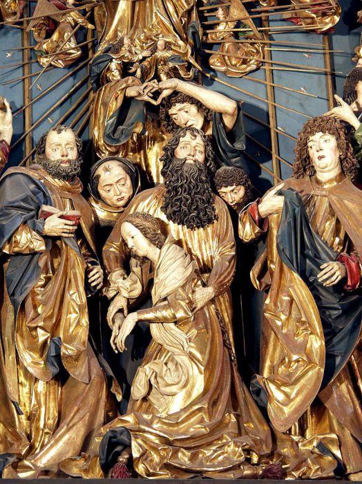 Панно «Успение Богородицы». | Фото: ru.wikipedia.org.