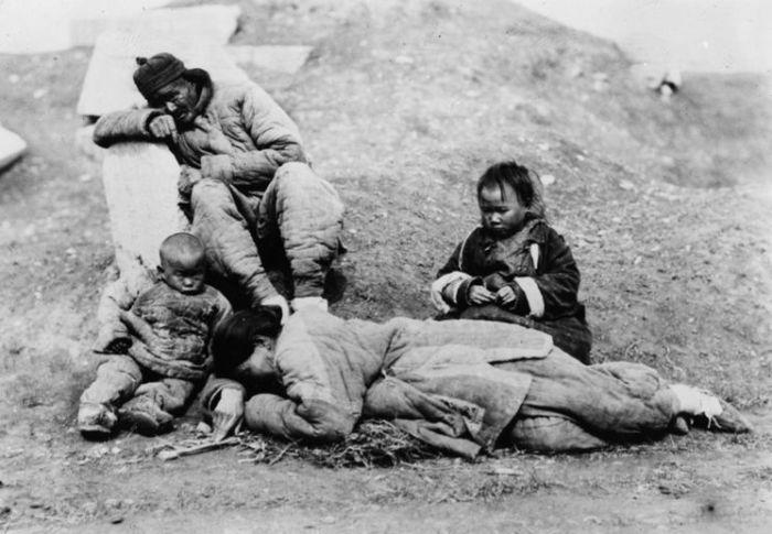 Великий китайский голод. | Фото: taringa.net.