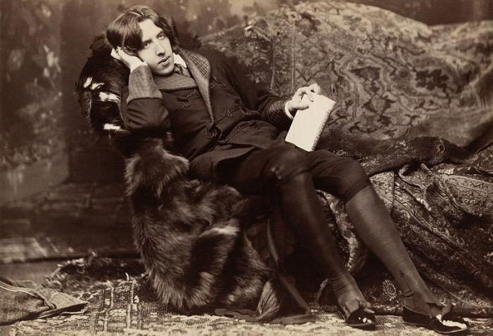 Оскар Уайльд – британский драматург, эстет и модник конца XIX века. Фото 1882 года. | Фото: loc.gov.