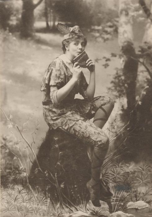 Американская актриса Мод Адамс в образе Питера Пэна, 1905 год.   Фото: en.wikipedia.org.