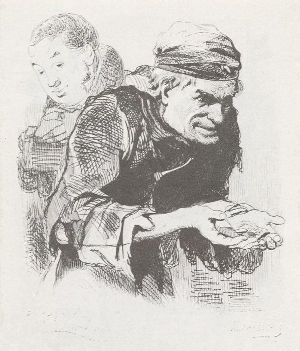 Образ Степана Плюшкина, скупого помещика из поэмы Н.В. Гоголя. Агин А.А. | Фото: ru.wikipedia.org.