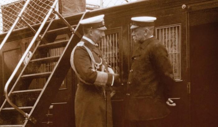 Альбер I и император Германии Вильгельм II. | Фото: monacohebdo.mc.