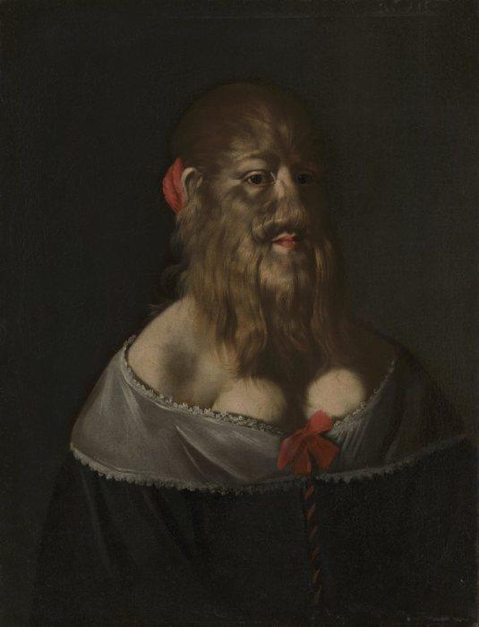 Портрет Барбары ван Бек. Неизвестный итальянский художник, 1640-е гг. | Фото: atlasobscura.com.