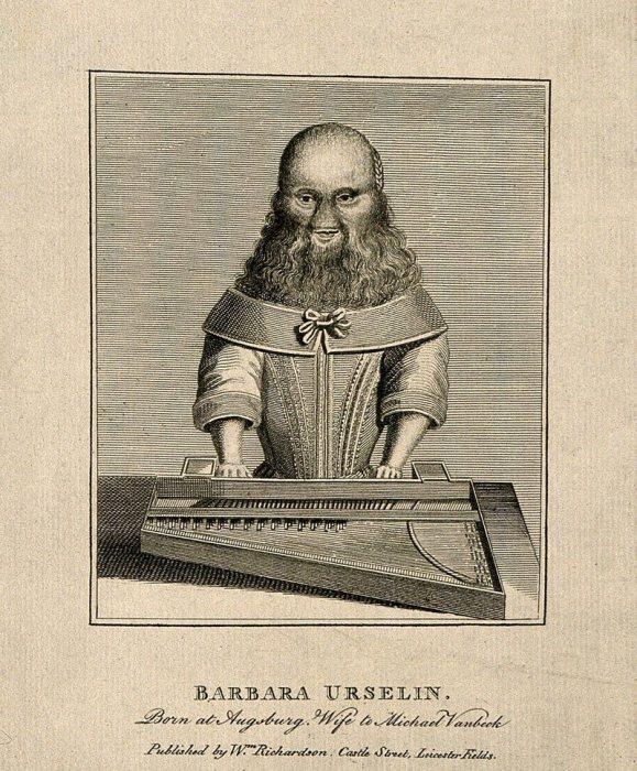 Барбара ван Бек, в девичестве Урслер, играет на клавесине. Уильям Ричардсон, 1813 год. | Фото: wellcomecollection.org.