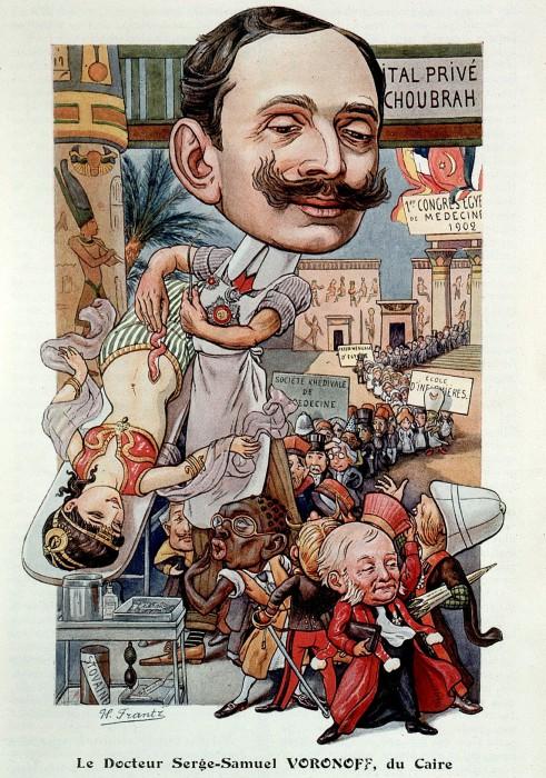 Политическая карикатура на Воронова в Египте. Фото: commons.wikimedia.org.