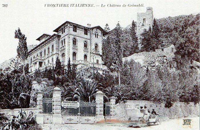 Замок Воронова в Гримальди (Италия). Фото: it.wikipedia.org.