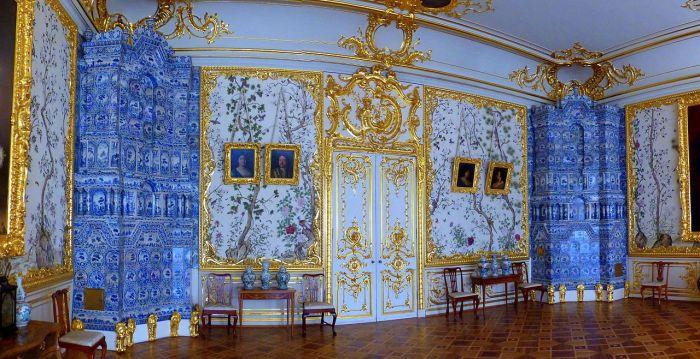 В комнате. Екатерининский дворец. | Фото: ru.wikipedia.org.