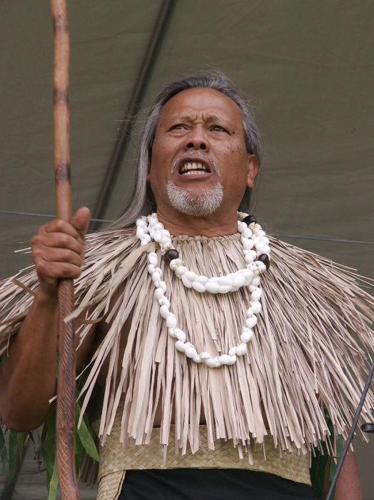 Старейшина племени чаморро. | Фото: ru.wikipedia.org.
