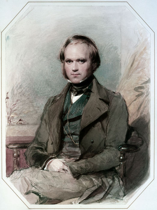 Чарлз Дарвин периода кругосветного путешествия, 1830-е годы. | Фото: ru.wikipedia.org.