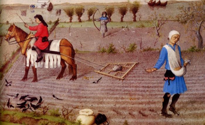 Этот крестьянин мечтает о путешествии в Шлараффенланд. | Фото: commons.wikimedia.org.