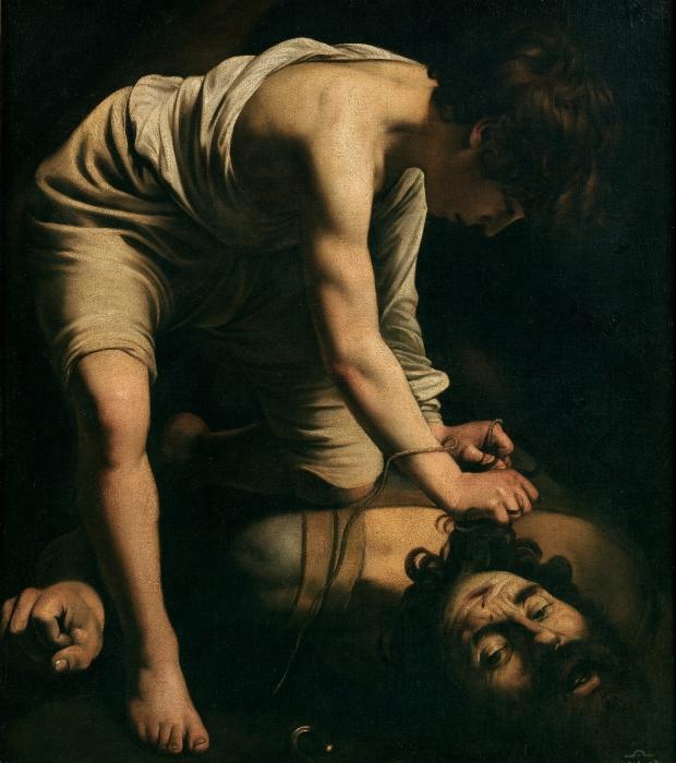 Давид и Голиаф. Караваджо, 1600 год. | Фото: ru.wikipedia.org.