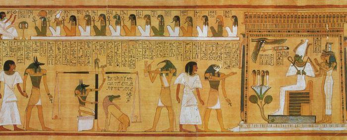 Загробный мир Древнего Египта. | Фото: dv-gazeta.info.