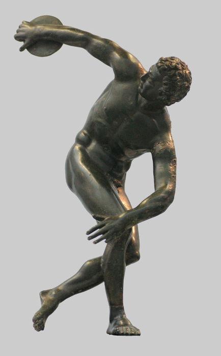 «Дискобол» Мирона. | Фото: ru.wikipedia.org.