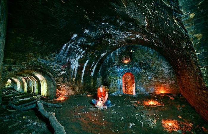 В подземельях Зеленого театра. | Фото: alexfoto.com.ua.