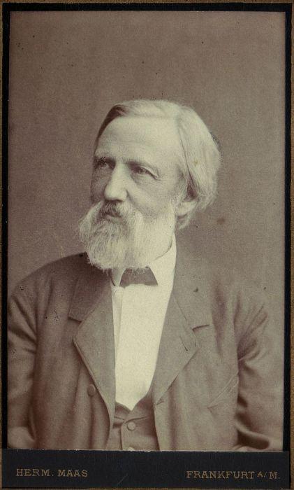 Генрих Гофман, немецкий психиатр, автор детских книг, 1880 год. | Фото: de.wikipedia.org.