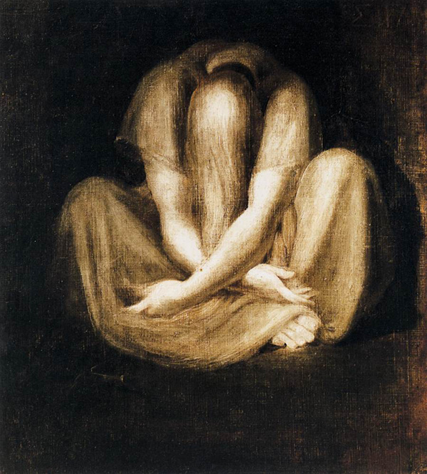 Тишина. Генри Фюзели, 1799-1801 гг. | Фото: volynska.livejournal.com.