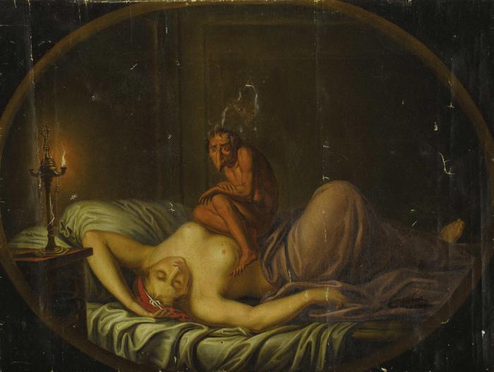 Ночной кошмар. Генри Фюзели. | Фото: flickr.com.