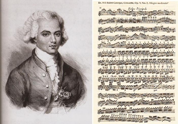 Шевалье де Сен-Жорж – скрипач, который оказал влияние на Моцарта. | Фото: atlasobscura.com.