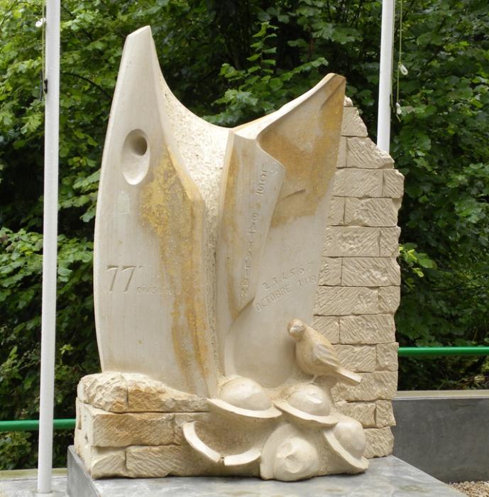 Памятник Шер Ами во Франции. | Фото: ru.wikipedia.org.