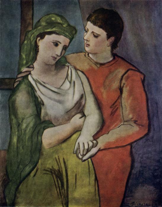 Влюбленные. Пабло Пикассо, 1923 г. | Фото: artyx.ru.