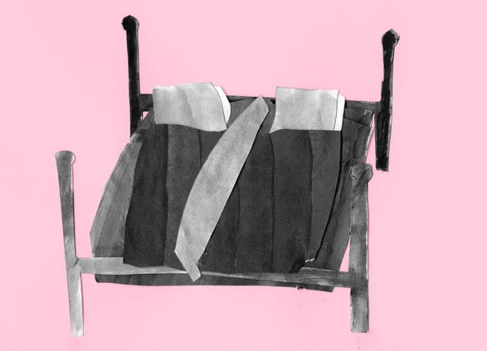Крестьяне ставили доску на кровати, чтобы разделить ее пополам. | Фото: atlasobscura.com.
