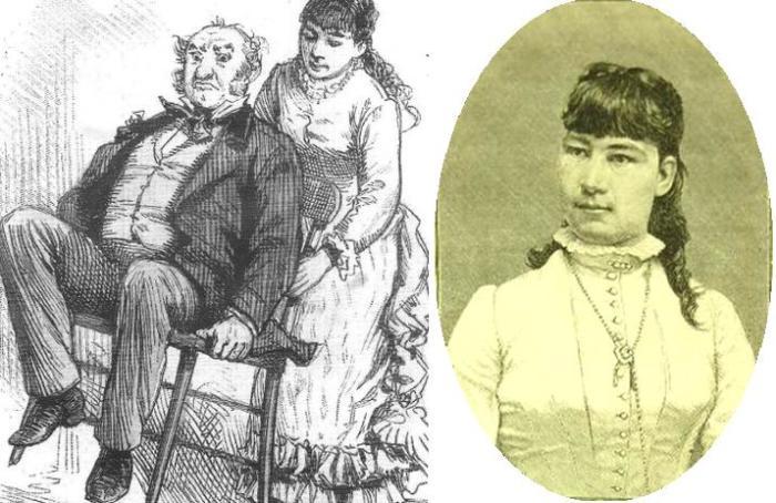 Лулу Херст – самая сильная девушка XIX века.