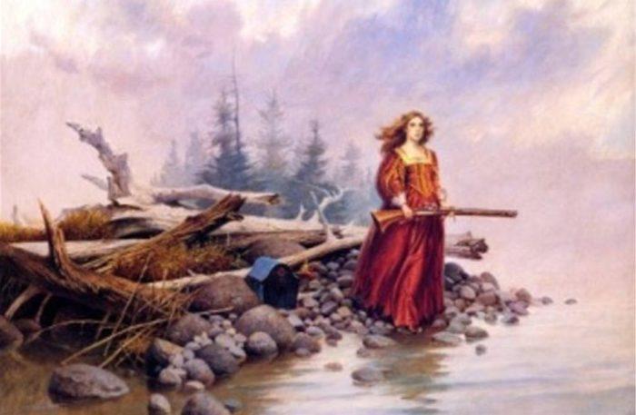 Маргарита де ла Рок де Роберваль несколько лет провела на острове Демонов. | Фото: ancient-origins.net.