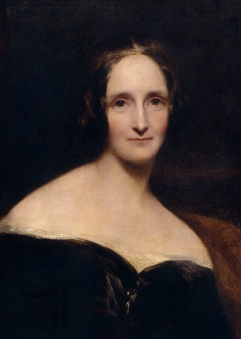 Мэри Шелли – английская писательница, автор знаменитого романа о Викторе Франкенштейне и его творении.   Фото: upload.wikimedia.org.