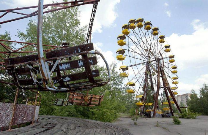 Колесо обозрения в Припяти. | Фото: news.bcm.ru.