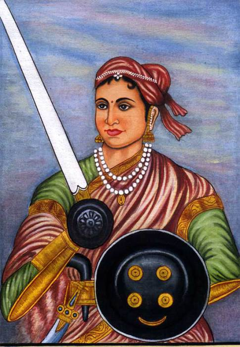 Рани Лакшми Баи – индийская принцесса-воин.   Фото: hindisoch.com.