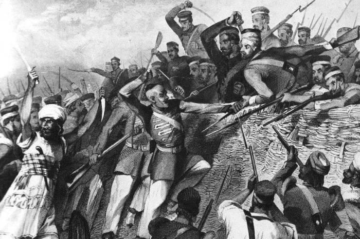 Сражение Индийского восстания. | Фото: cont.ws.