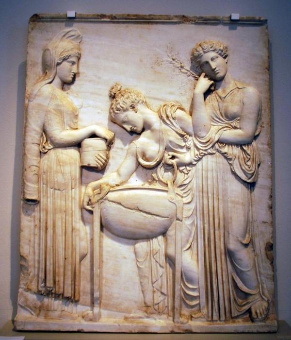 Ведьма Медея, внучка бога солнца Гелиоса в греческой мифологии. | Фото: commons.wikimedia.org.