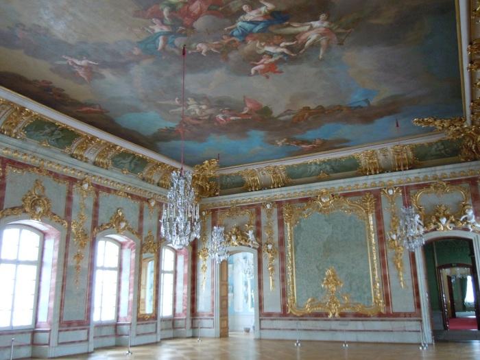 Золотой зал в Рундальском дворце. | Фото: experts.turne.com.ua.