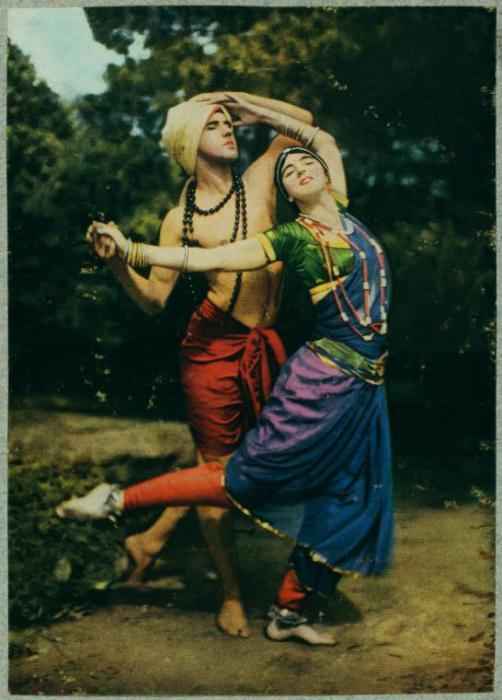 Рут Сен-Дени и ее муж танцор Тед Шоун.