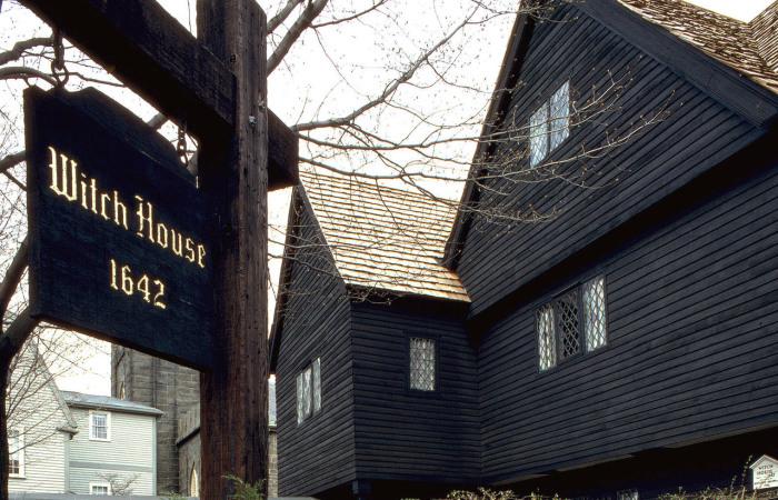 «Ведьмин дом» в Салеме, Массачусетс.   Фото: en.wikipedia.org.