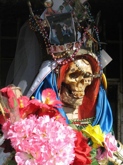Санта Муэрте. | Фото: commons.wikimedia.org.