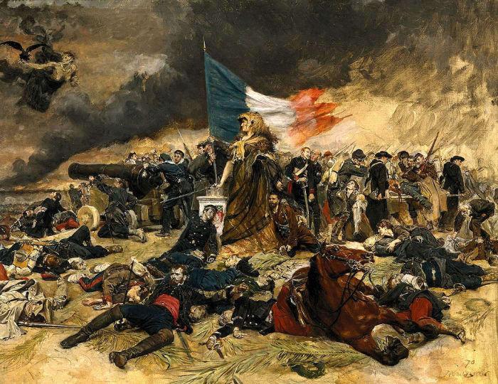Осада Парижа в 1870 году. Жан-Луи-Эрнест Месонье. | Фото: ru.wikipedia.org.