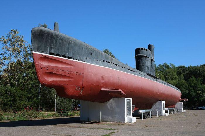 Советская подводная лодка М-296 серии «Малютка» (Одесса, Украина). | Фото: ru.wikipedia.org.