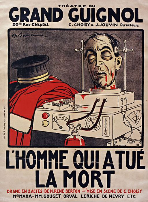Реклама для одного из шоу, 1928 год. | Фото: commons.wikimedia.org.