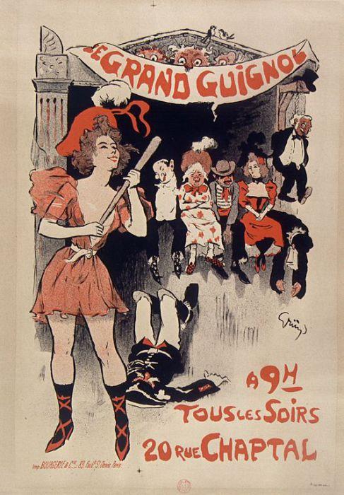 «Веселый» плакат 1890-х годов. | Фото: commons.wikimedia.org.
